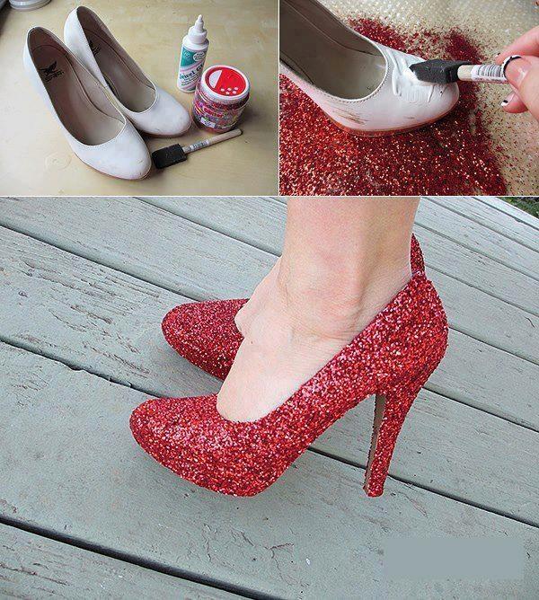 schoenen upcyclen